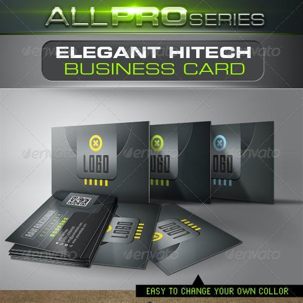 Elegant Hi-Tech Business Card