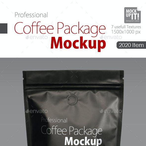 Coffee Package Mock up