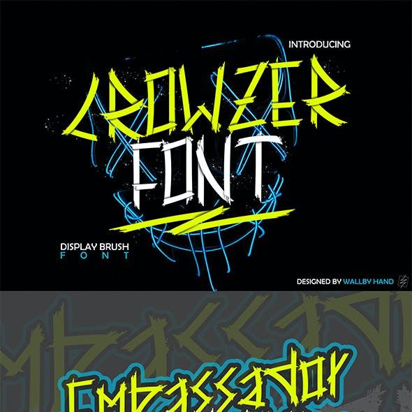 Crowzer Font