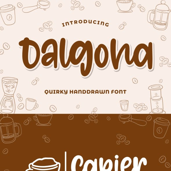 Dalgona - Quirky Font
