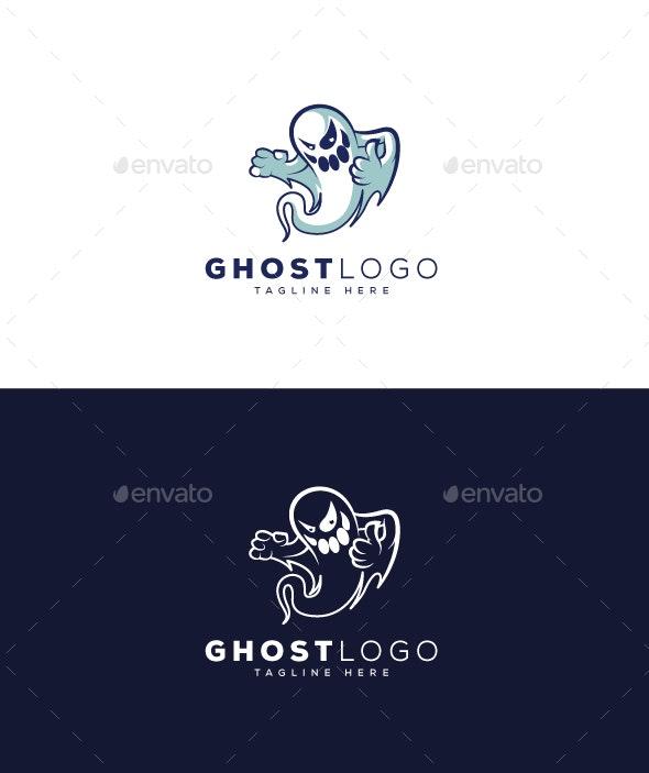 Ghost Logo - Symbols Logo Templates
