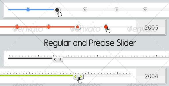 Clean Data Sliders - Sliders & Features Web Elements