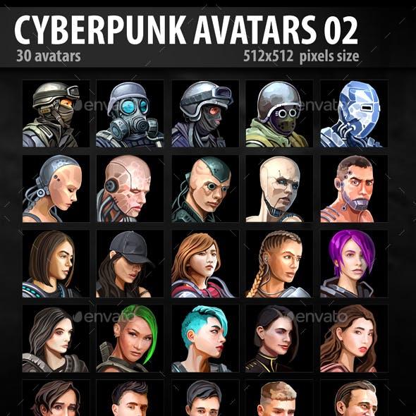 Cyberpunk Avatars 02