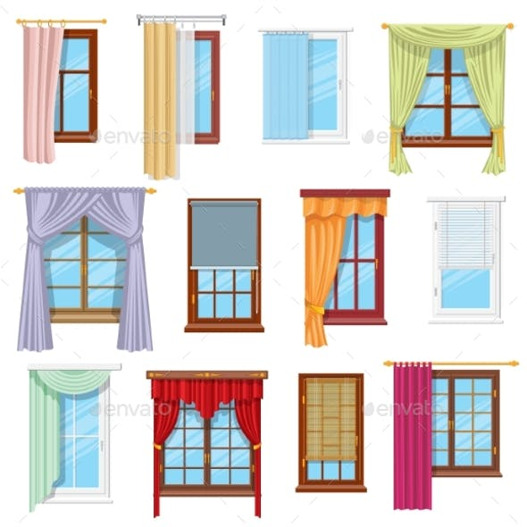 Window Curtains Draperies and Blinds