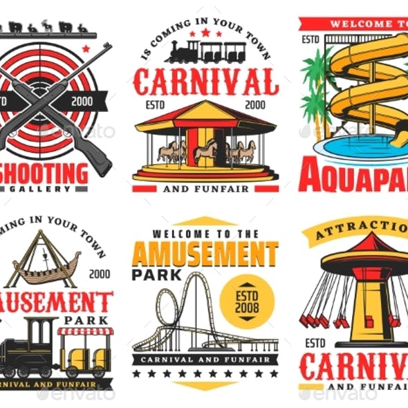 Aquapark, Funfair Carnival and Entertainment Park