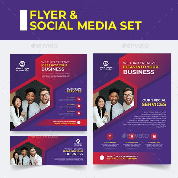 Banner Business Card Templates Designs From Graphicriver