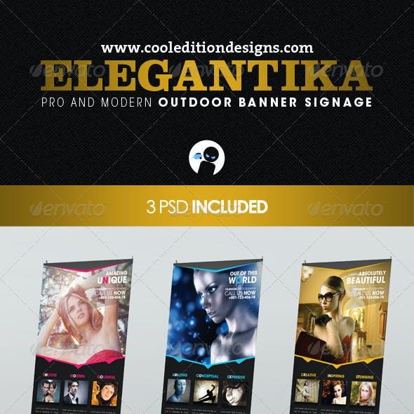 Elegantika - Pro & Modern Outdoor Banner Signage