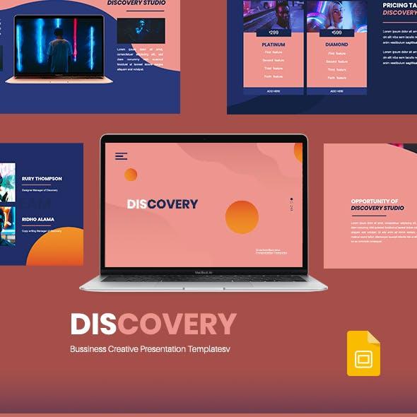 Discovery - Creative Business Google Slides Presentation Template