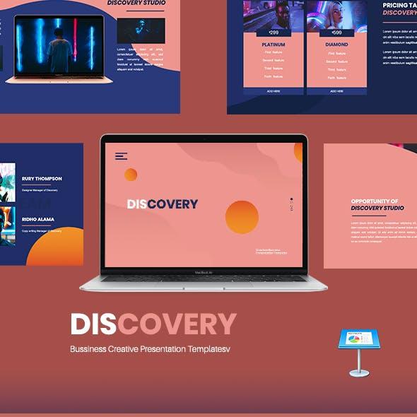 Discovery - Creative Business Keynote Presentation Template
