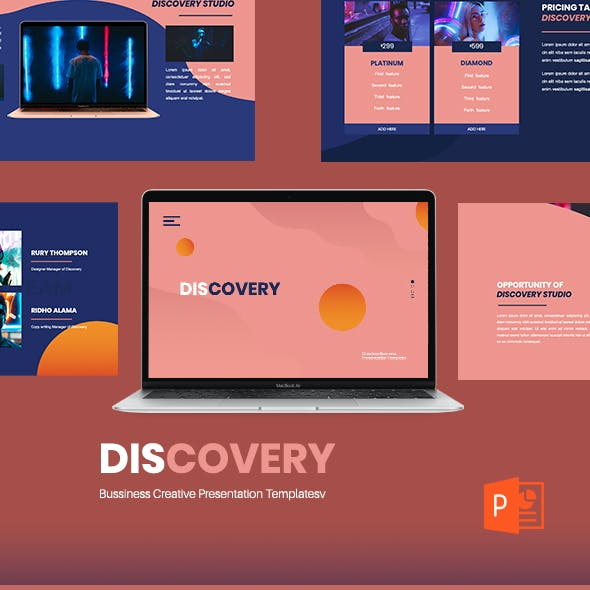 Discovery - Creative Business PowerPoint Presentation Template