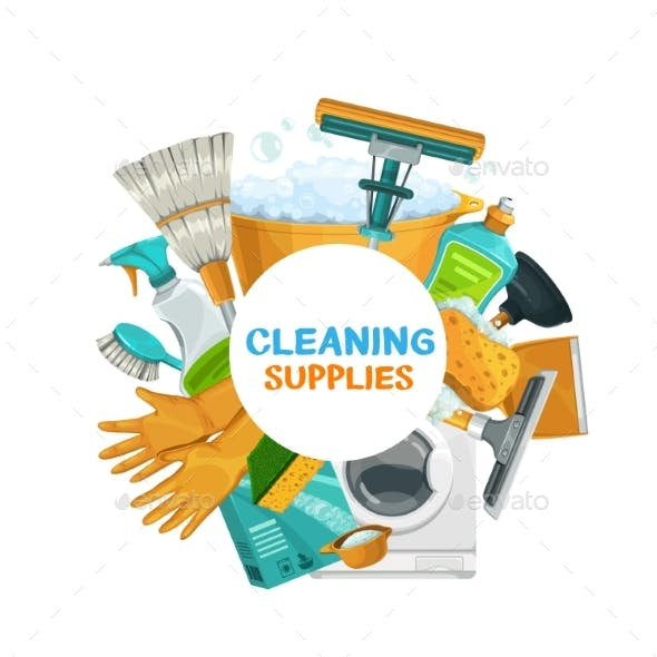 Homework Supplies, House Cleaning, Laundry Tools