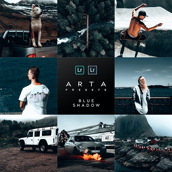ARTA Presets | Blue Shadow | For Mobile and Desktop Lightroom