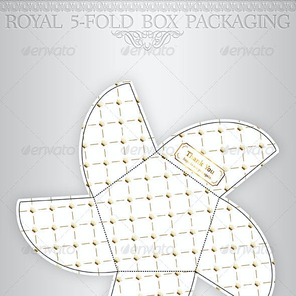 Royal Gift Package Box Template