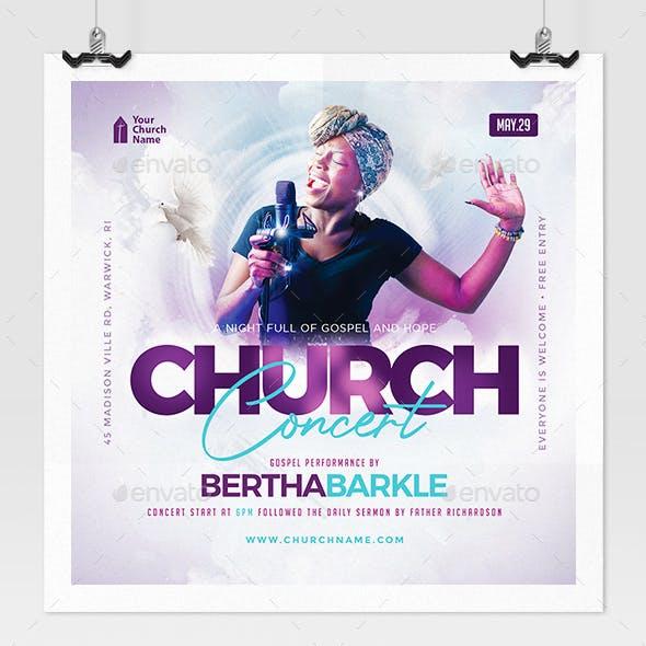 Church Music Concert Flyer