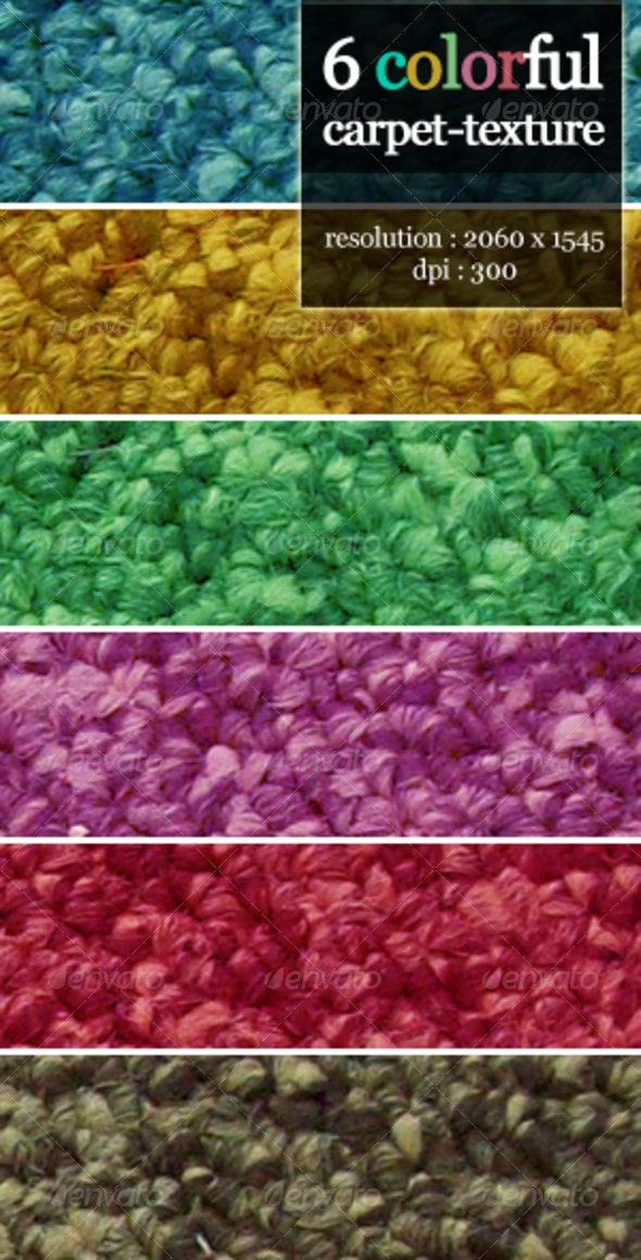 Colorful Carpet Texture - Fabric Textures