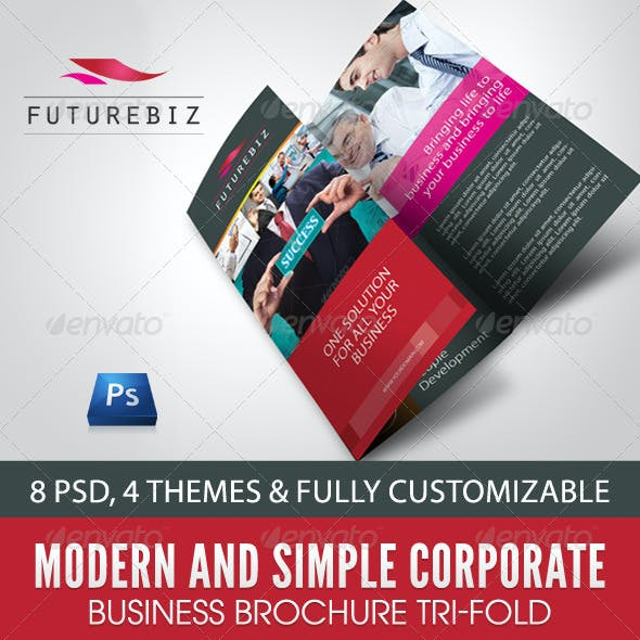 Modern and Simple Corporate Business Brochure