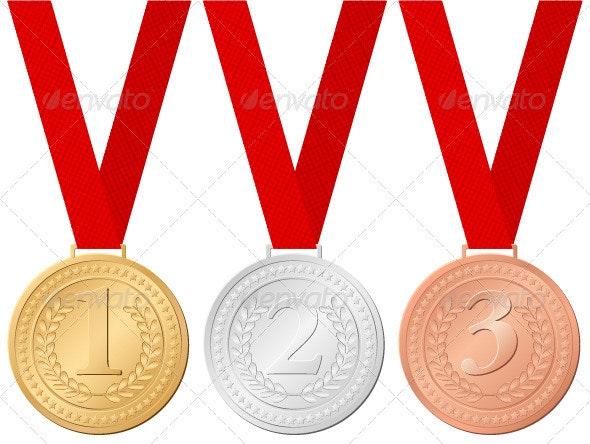 sport medals - Sports/Activity Conceptual