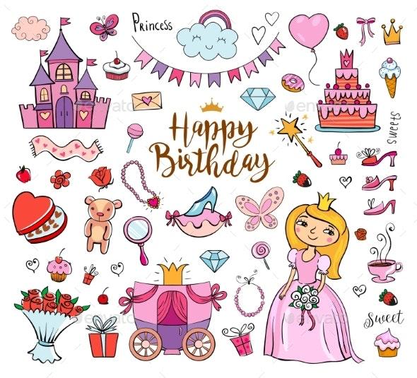 Happy Birthday Princess - Birthdays Seasons/Holidays