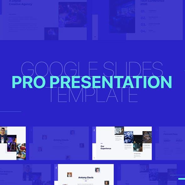 Pro Presentation - GoogleSlide Template