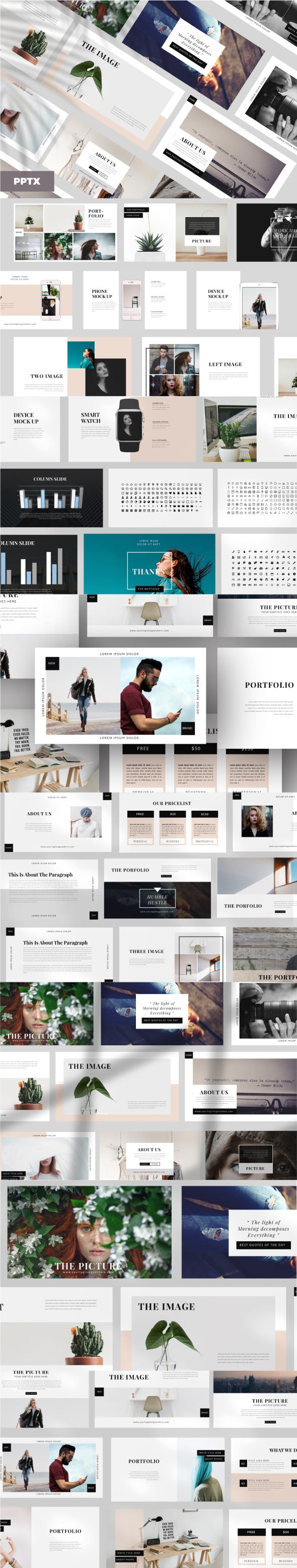 Elegant Business Powerpoint Template - Business PowerPoint Templates