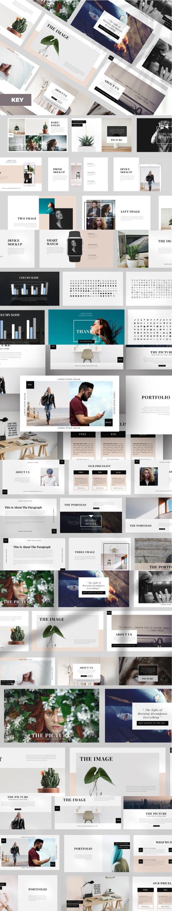 Elegant Business Keynote - Business Keynote Templates