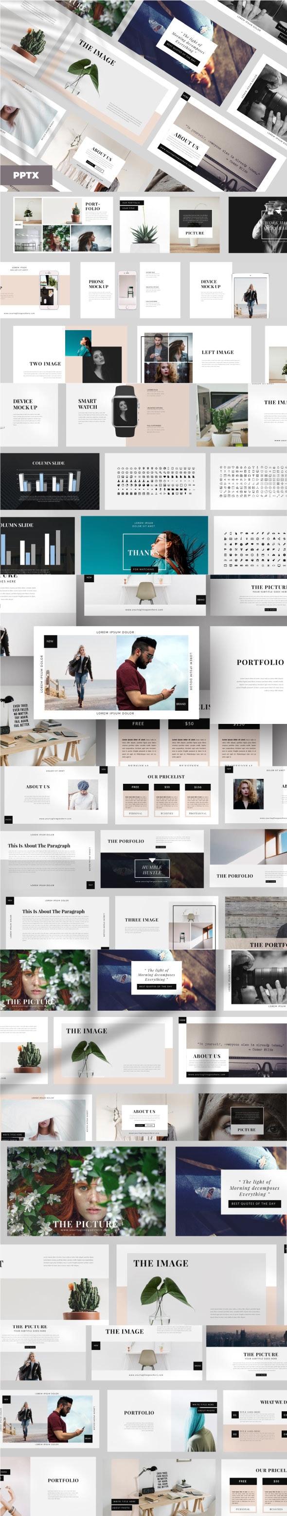 Elegant Business Google Slides - Google Slides Presentation Templates