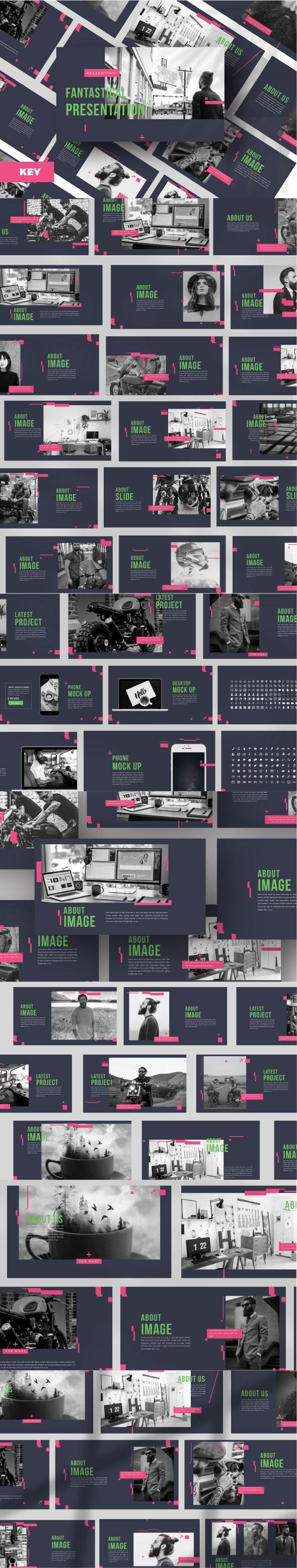 Fantastical Creative Keynote - Creative Keynote Templates