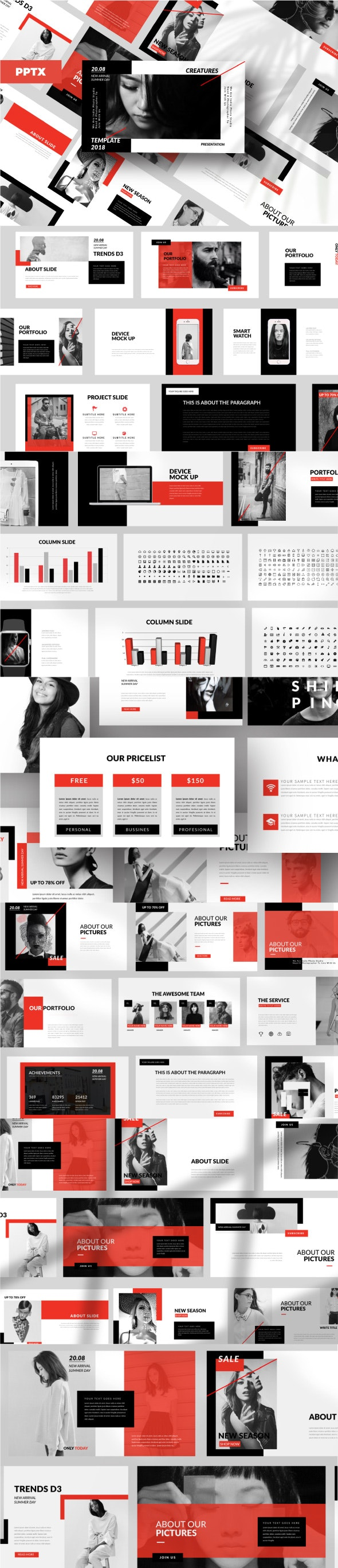 Stuff Business Powerpoint Template - Business PowerPoint Templates