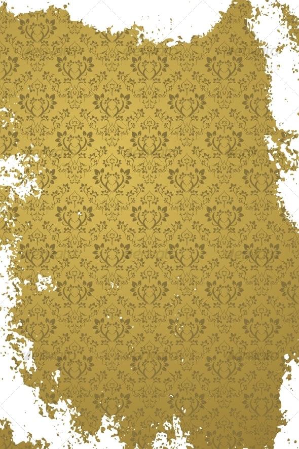 Grunge gold background - Backgrounds Decorative