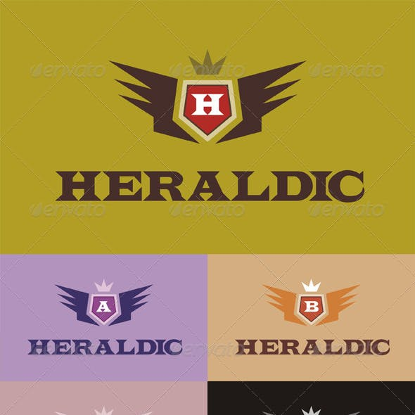 Heraldic Letters Logo