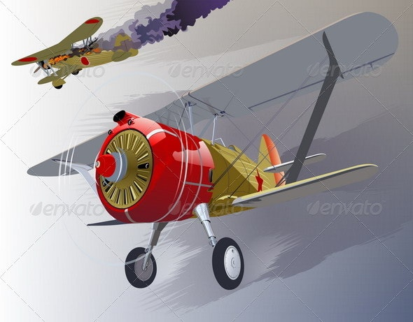 Fighter 30-s - Retro Technology