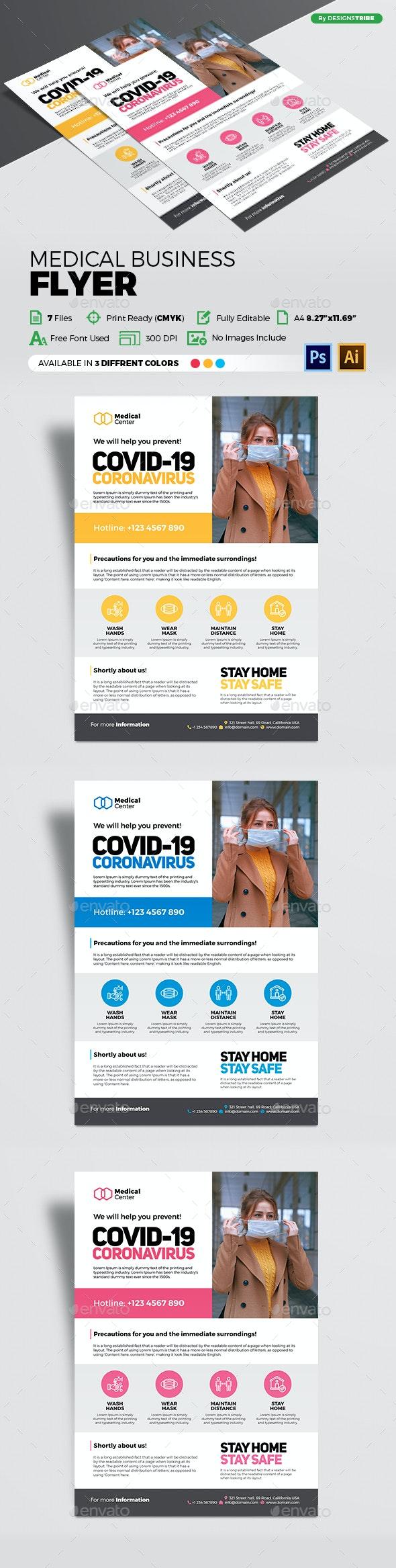 Medical Business Flyer - Flyers Print Templates