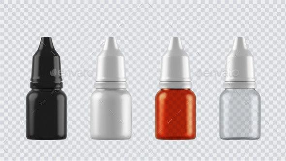 Realistic Mock Up Bottles - Health/Medicine Conceptual