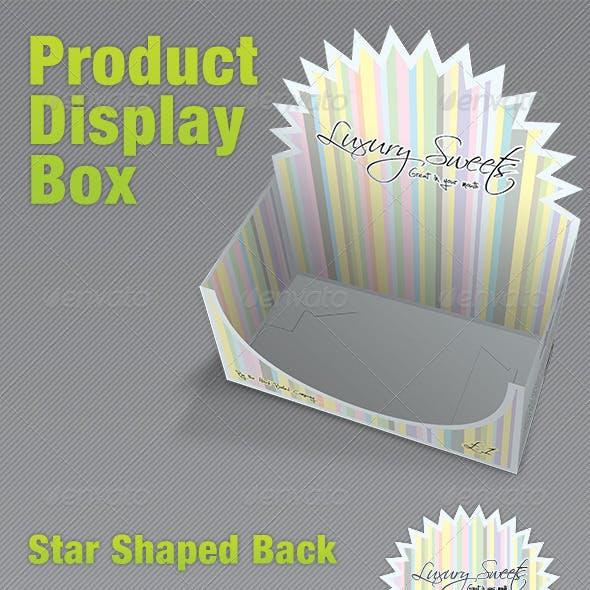 Product Display Box - Packaging