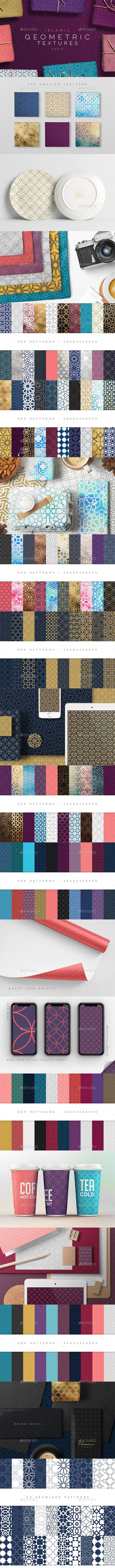 Geometric Patterns Islamic Ed. - Patterns Backgrounds
