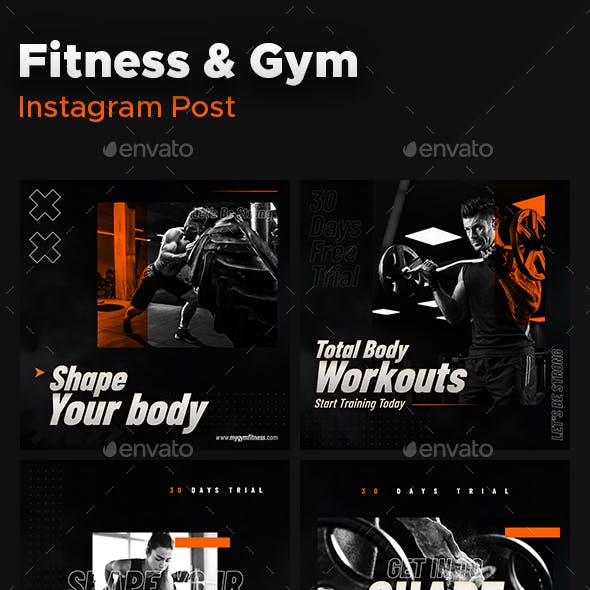 Instagram Post fitness
