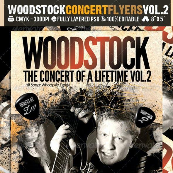 Woodstock PSD Flyer Templates Vol-2