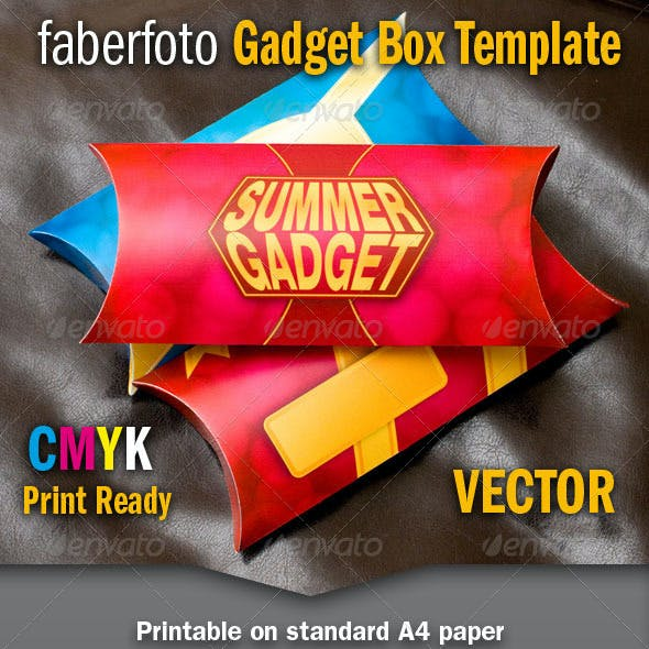 Gadget Box Template
