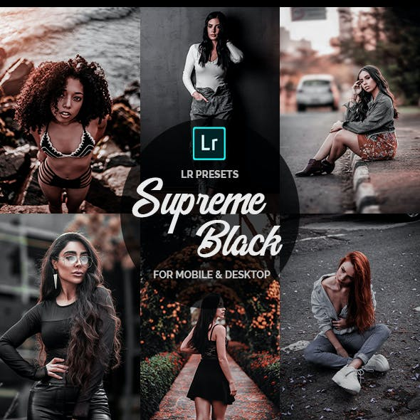 Supreme Black - Lightroom Presets