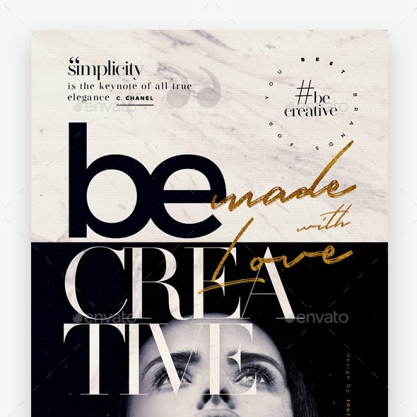 Be Creative Flyer Template
