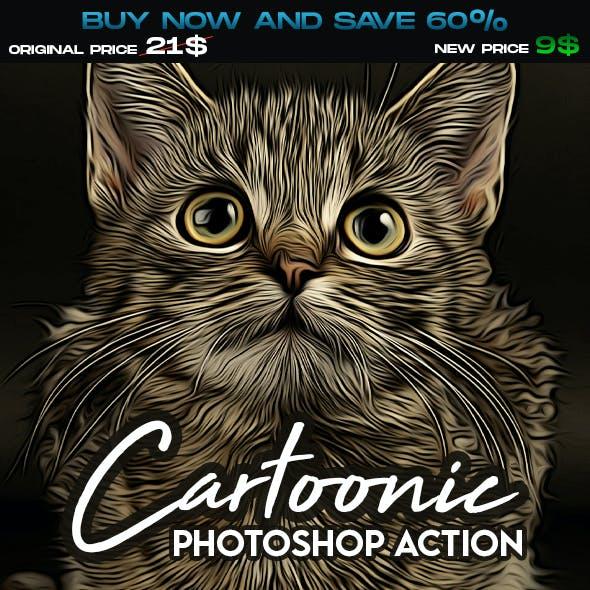 Cartoon Painting Bundle - Photoshop Actions