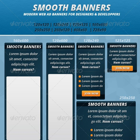 Smooth Banners