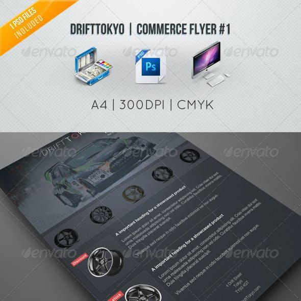 DriftTokyo | Commerce Flyer #1