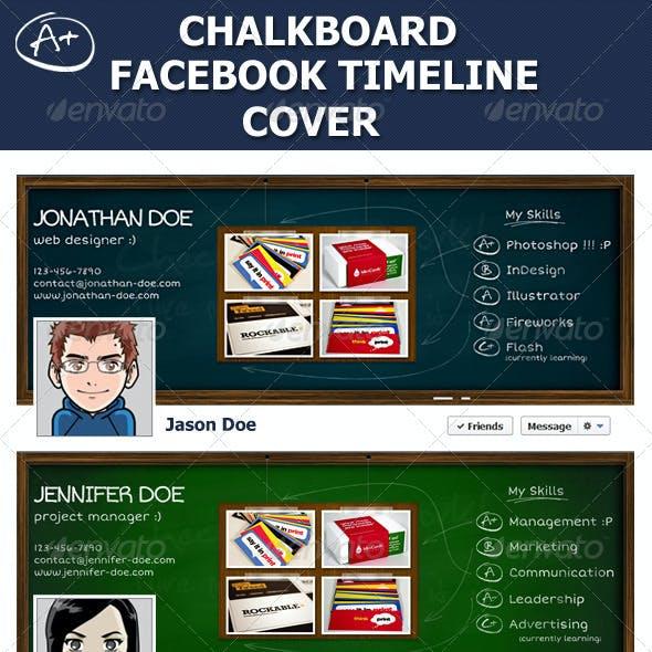 Chalkboard Facebook Timeline Cover