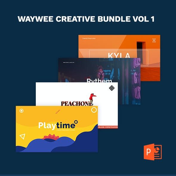 Waywee Creative Business Bundle Vol 1 PowerPoint
