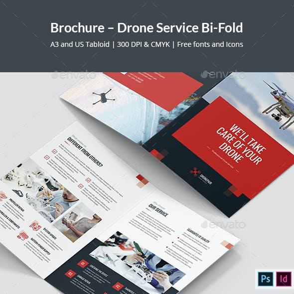 Brochure – Drone Service Bi-Fold