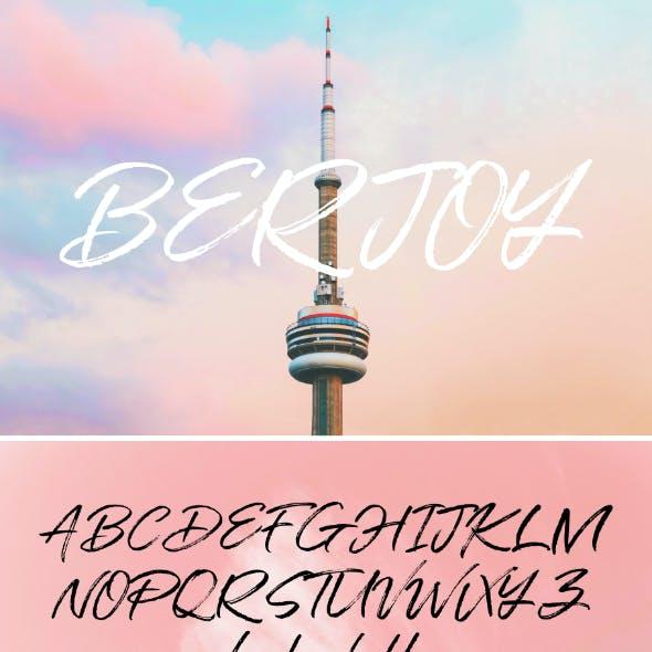 Berjoy Font