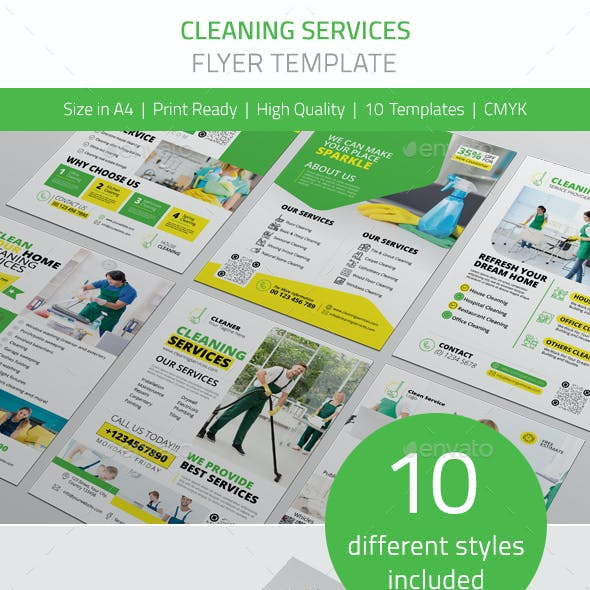 Cleaning Services Flyer Vol.1