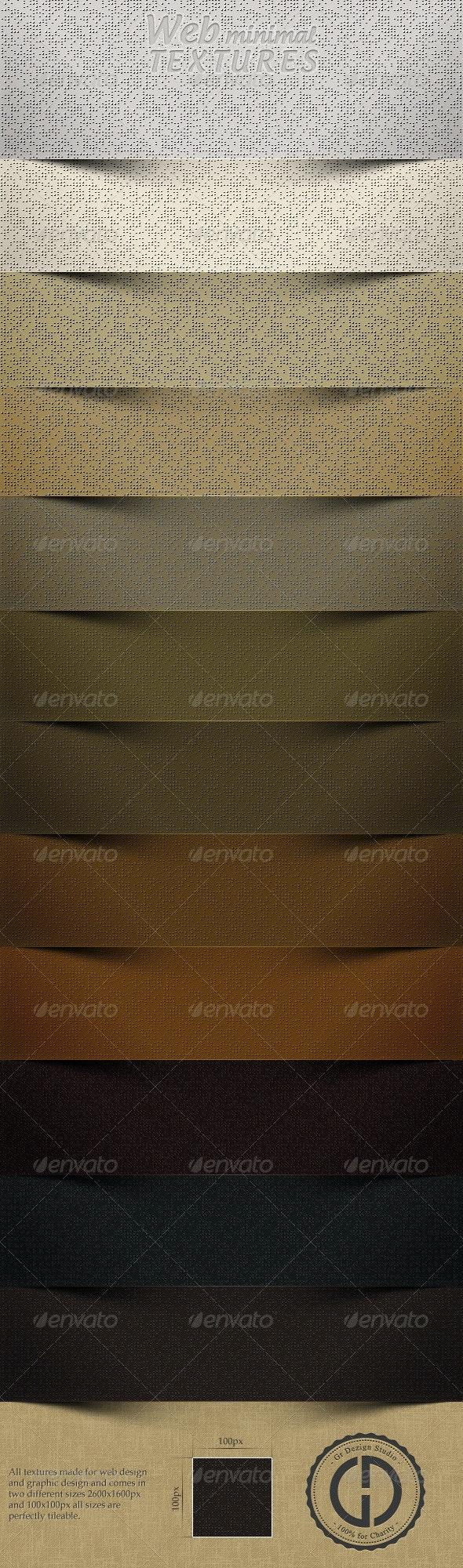 Web Minimal Textures - Industrial / Grunge Textures