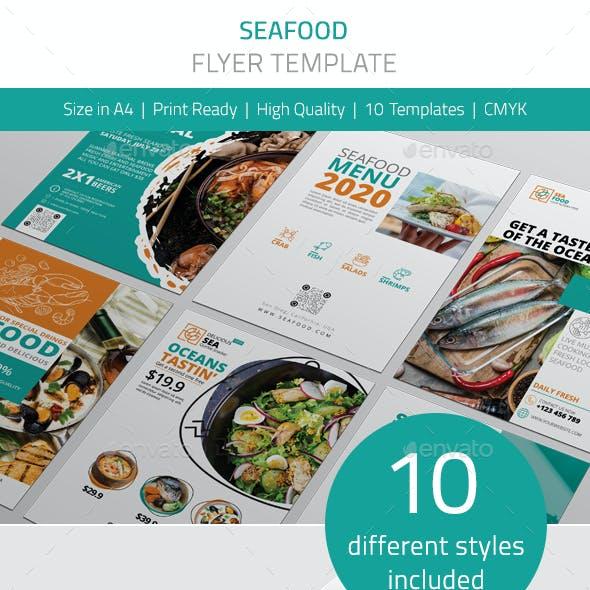 Seafood Flyer Vol.1